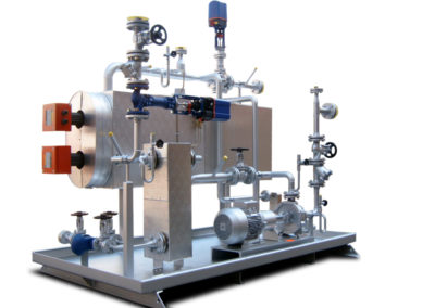 Electrically heated boilers